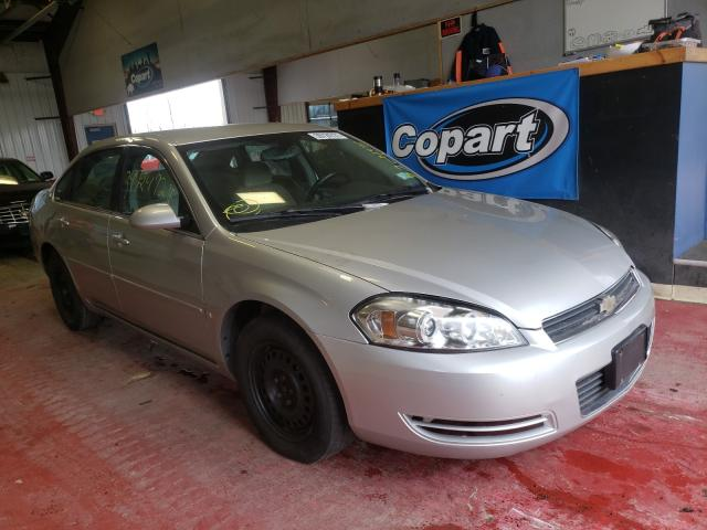 Salvage cars for sale from Copart Angola, NY: 2007 Chevrolet Impala LS