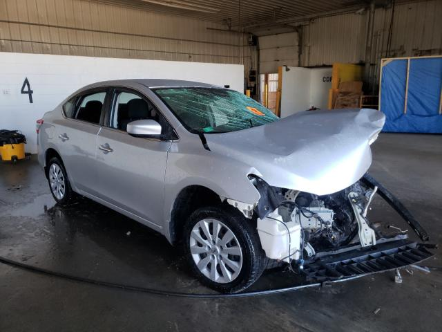 Salvage cars for sale at Candia, NH auction: 2015 Nissan Sentra S