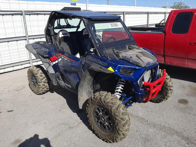 Salvage cars for sale from Copart Las Vegas, NV: 2021 Polaris RZR XP 100