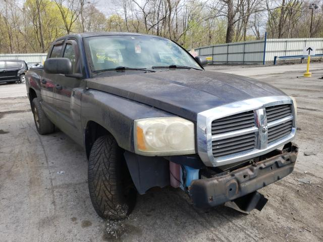 Salvage cars for sale from Copart Ellwood City, PA: 2005 Dodge Dakota