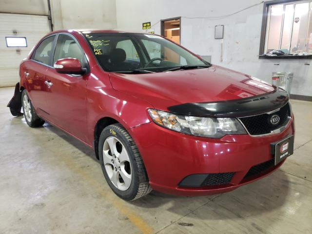 Salvage cars for sale from Copart Atlantic Canada Auction, NB: 2010 KIA Forte EX