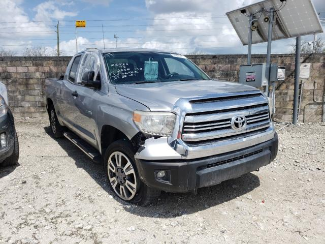 Salvage cars for sale from Copart Homestead, FL: 2014 Toyota Tundra DOU