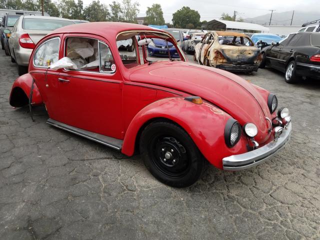 Volkswagen salvage cars for sale: 1970 Volkswagen Beetle