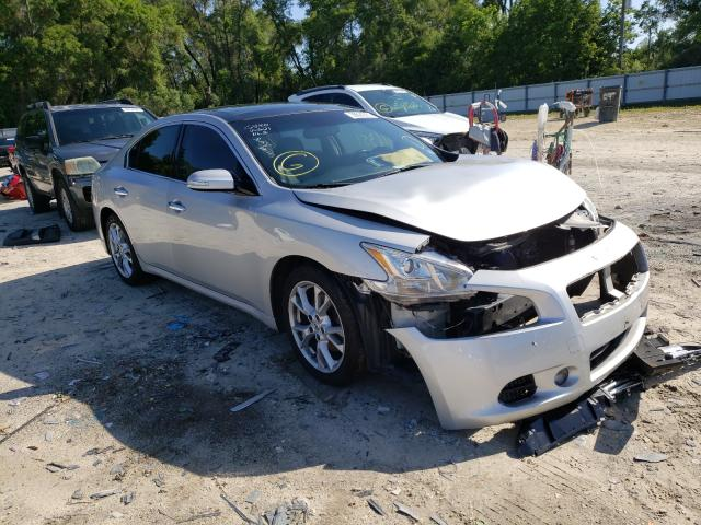 Salvage cars for sale from Copart Ocala, FL: 2012 Nissan Maxima S