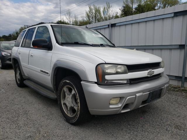 Salvage cars for sale from Copart Fredericksburg, VA: 2004 Chevrolet Trailblazer