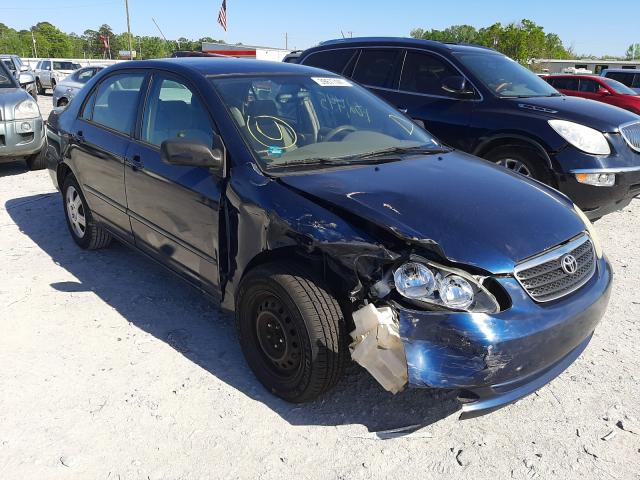 Salvage cars for sale from Copart Montgomery, AL: 2005 Toyota Corolla CE