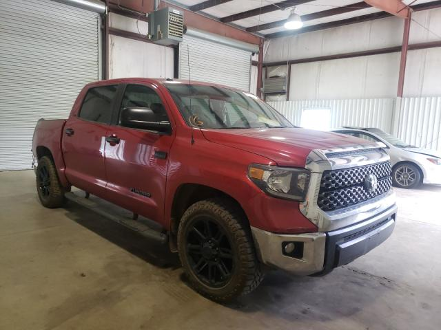 Salvage cars for sale from Copart Lufkin, TX: 2019 Toyota Tundra CRE
