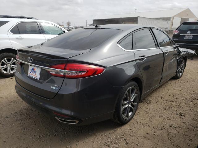 2017 FORD FUSION SE - Right Rear View