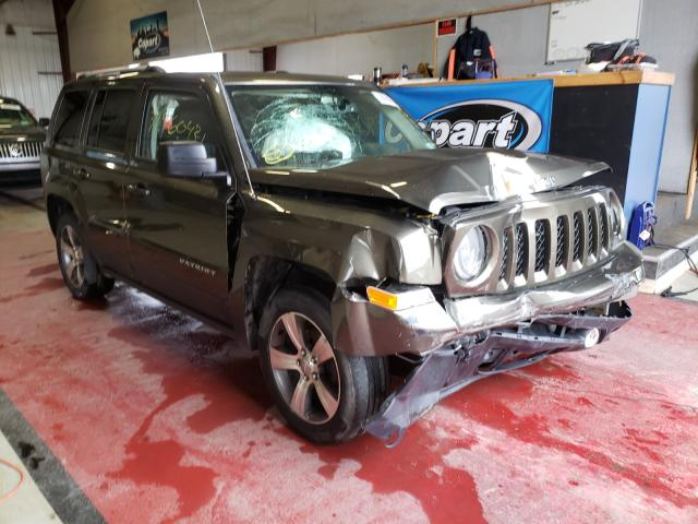 Salvage cars for sale from Copart Angola, NY: 2016 Jeep Patriot LA