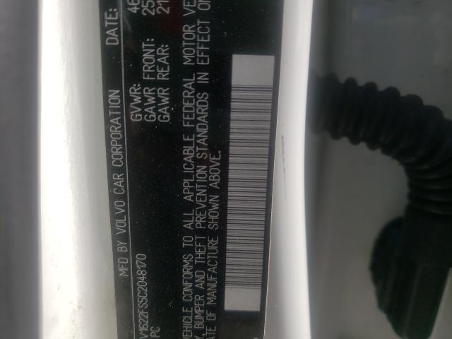 YV1622FS5C2048170