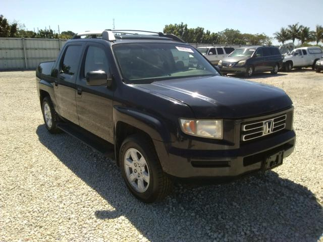 Salvage cars for sale from Copart Homestead, FL: 2006 Honda Ridgeline