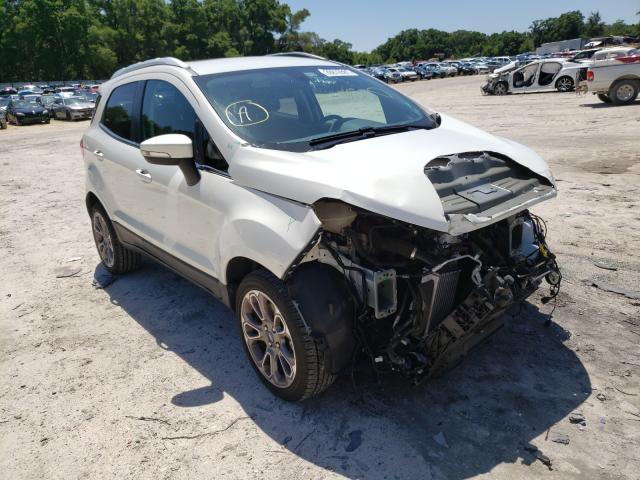 Salvage cars for sale from Copart Ocala, FL: 2019 Ford Ecosport T