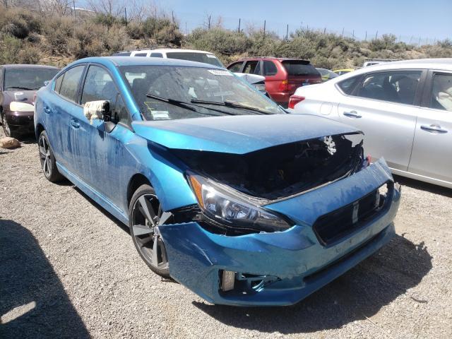 Salvage cars for sale from Copart Reno, NV: 2017 Subaru Impreza SP