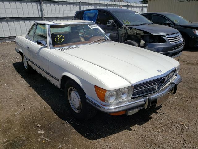 Mercedes-Benz 450 SL salvage cars for sale: 1973 Mercedes-Benz 450 SL