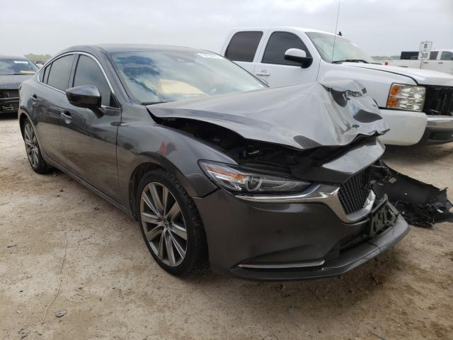 Salvage cars for sale from Copart Temple, TX: 2018 Mazda 6 Signatur