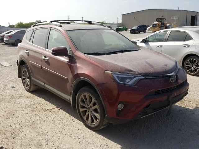 Salvage cars for sale from Copart San Antonio, TX: 2018 Toyota Rav4 Limited