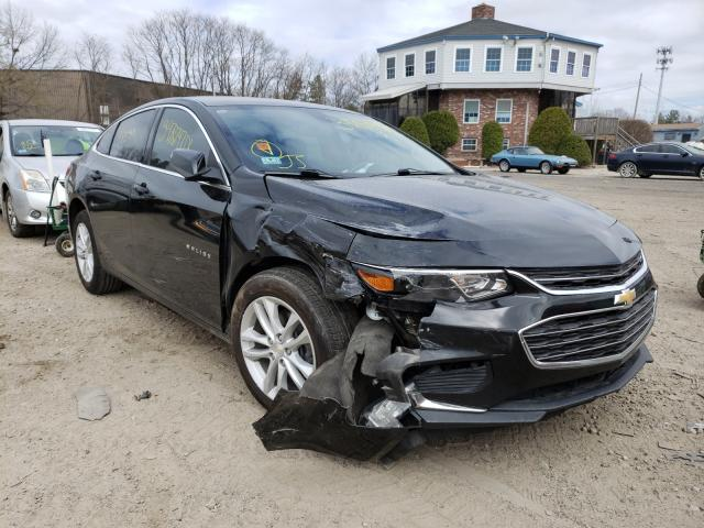 Salvage cars for sale from Copart North Billerica, MA: 2016 Chevrolet Malibu LT