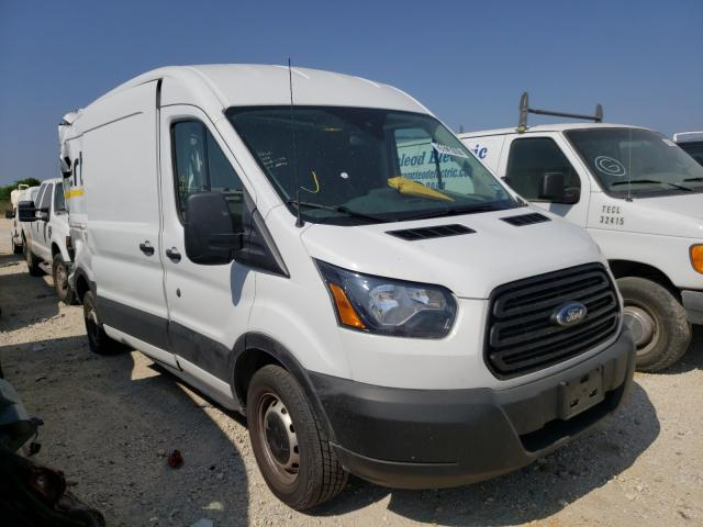 Salvage cars for sale from Copart San Antonio, TX: 2019 Ford Transit T