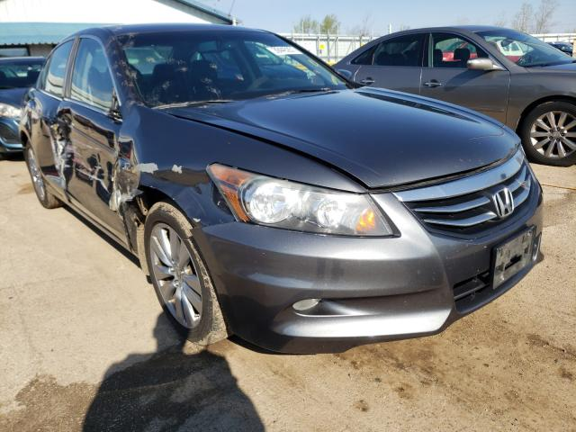 Salvage cars for sale from Copart Pekin, IL: 2012 Honda Accord EXL