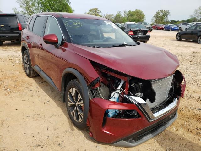 Vehiculos salvage en venta de Copart China Grove, NC: 2021 Nissan Rogue SV