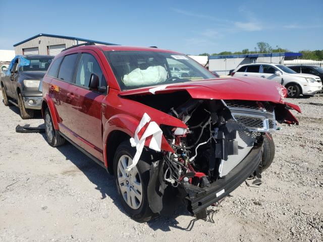 Salvage cars for sale from Copart Hueytown, AL: 2020 Dodge Journey SE