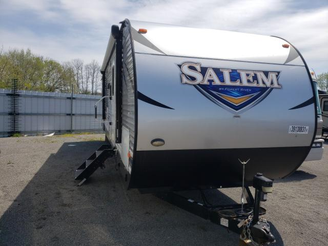 Salem salvage cars for sale: 2018 Salem Forest River