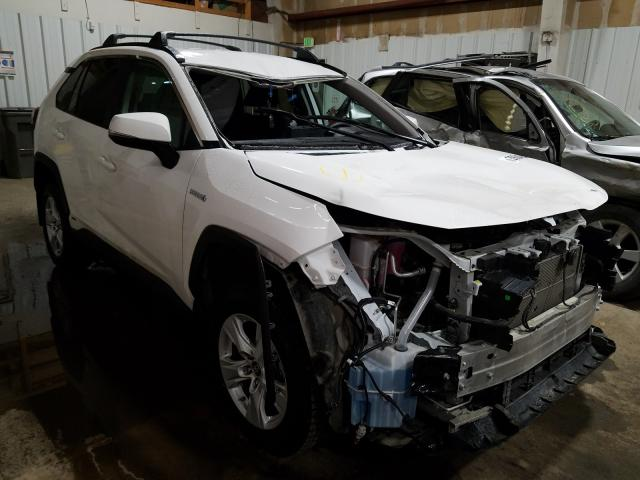 Salvage cars for sale from Copart Anchorage, AK: 2020 Toyota Rav4 LE