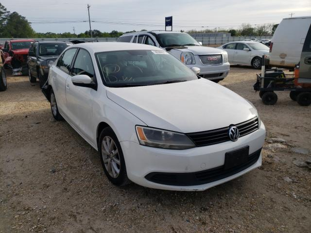 Salvage cars for sale from Copart Newton, AL: 2012 Volkswagen Jetta SE