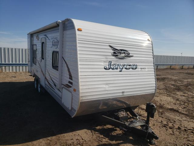 Jayco Travel Trailer salvage cars for sale: 2014 Jayco Travel Trailer