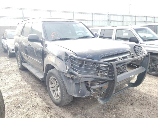 Salvage cars for sale from Copart Albuquerque, NM: 2003 Toyota Sequoia LI