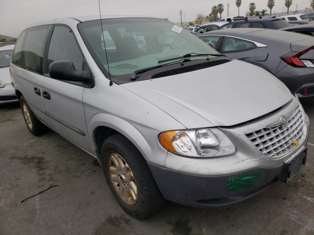 Salvage cars for sale from Copart Colton, CA: 2002 Chrysler Voyager