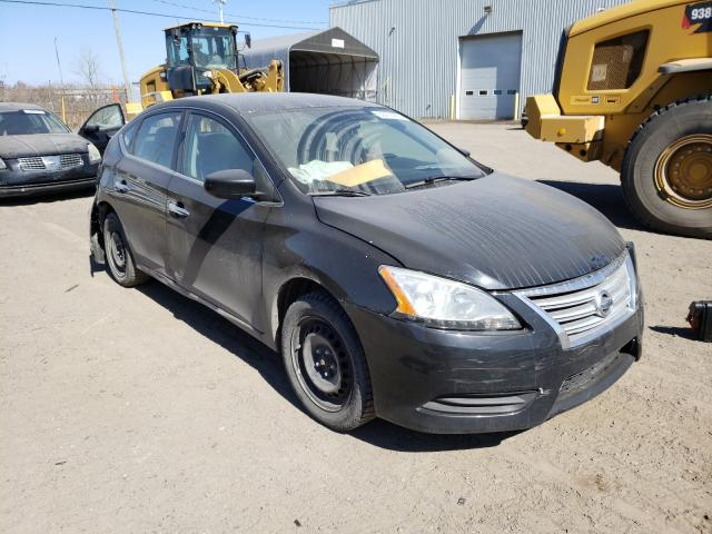 Salvage cars for sale from Copart Montreal Est, QC: 2014 Nissan Sentra S