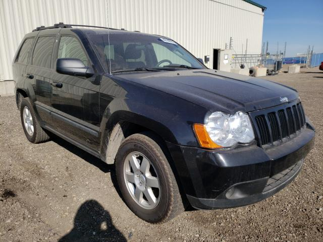 Salvage cars for sale from Copart Rocky View County, AB: 2008 Jeep Grand Cherokee