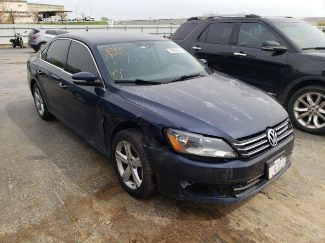 Salvage cars for sale from Copart Tulsa, OK: 2013 Volkswagen Passat SE