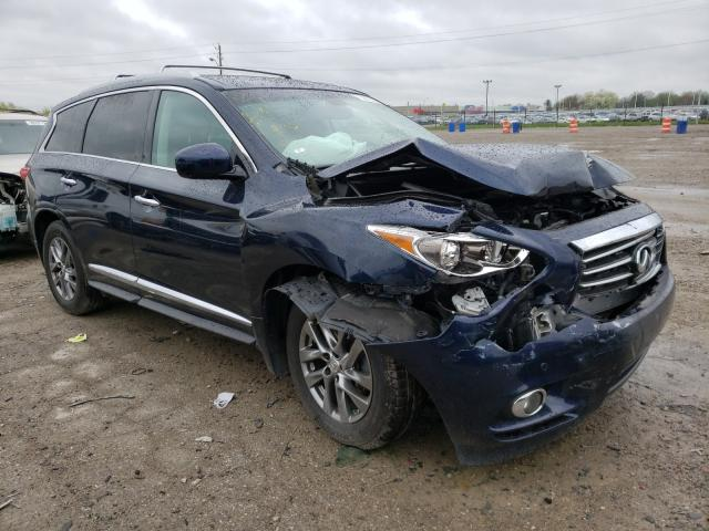 Salvage cars for sale from Copart Indianapolis, IN: 2015 Infiniti QX60