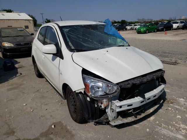 Salvage cars for sale from Copart Corpus Christi, TX: 2018 Mitsubishi Mirage ES