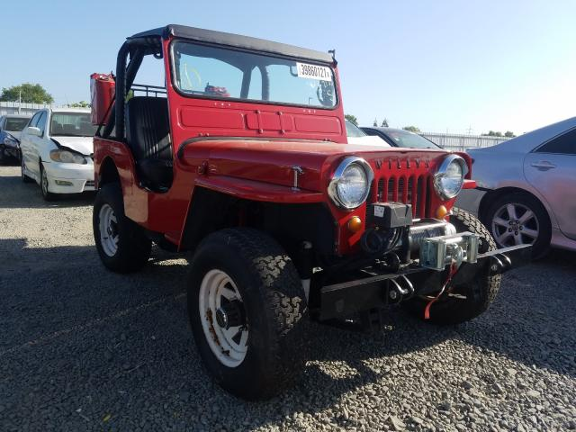 Salvage cars for sale from Copart Sacramento, CA: 1947 Willys Jeep