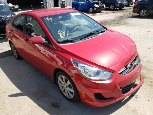 Hyundai Accent salvage cars for sale: 2012 Hyundai Accent