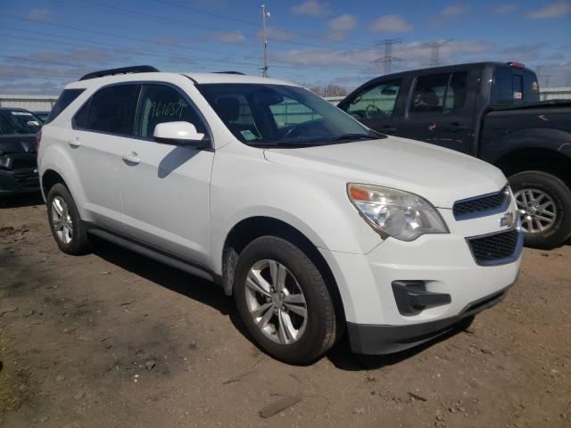 Salvage cars for sale from Copart Elgin, IL: 2011 Chevrolet Equinox LT