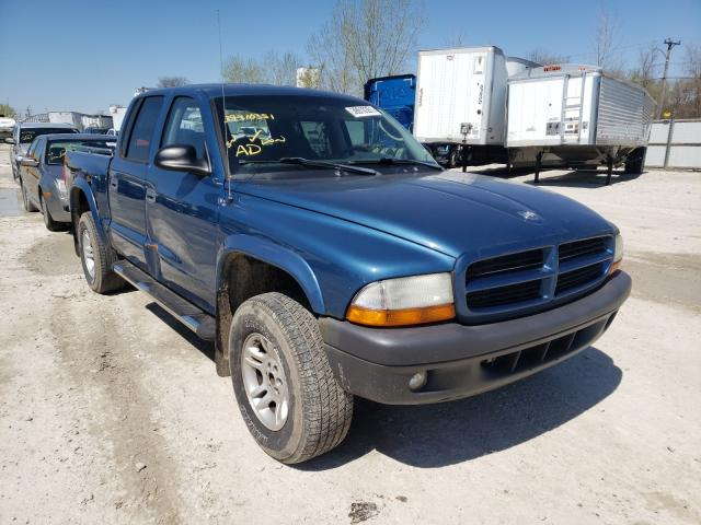 Dodge Vehiculos salvage en venta: 2003 Dodge Dakota