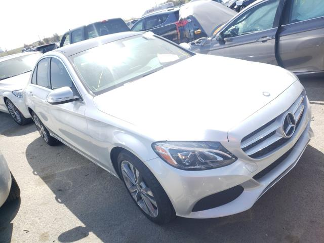 Salvage cars for sale from Copart Martinez, CA: 2015 Mercedes-Benz C 300 4matic