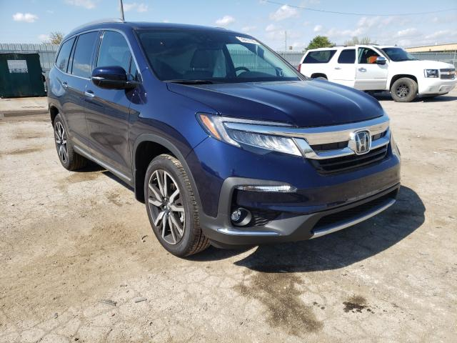 Salvage cars for sale from Copart Lexington, KY: 2021 Honda Pilot Elit
