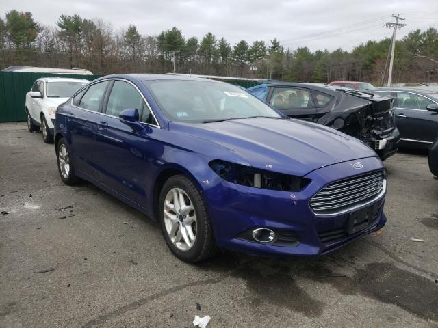 Salvage cars for sale from Copart Exeter, RI: 2015 Ford Fusion SE