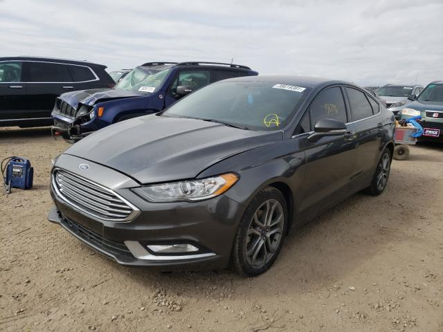 2017 FORD FUSION SE - Left Front View