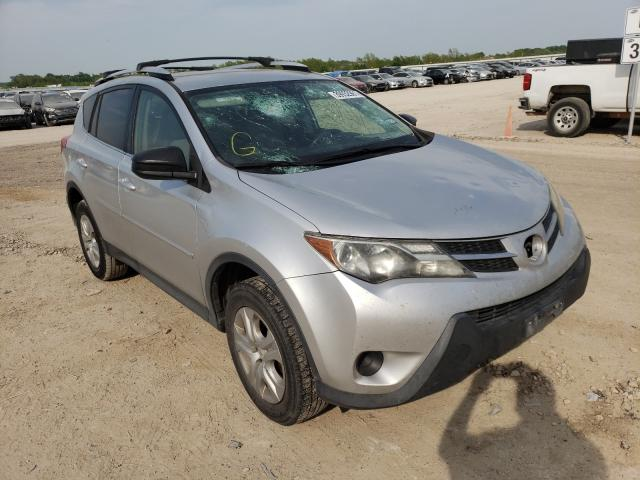 Salvage cars for sale from Copart Temple, TX: 2014 Toyota Rav4 LE
