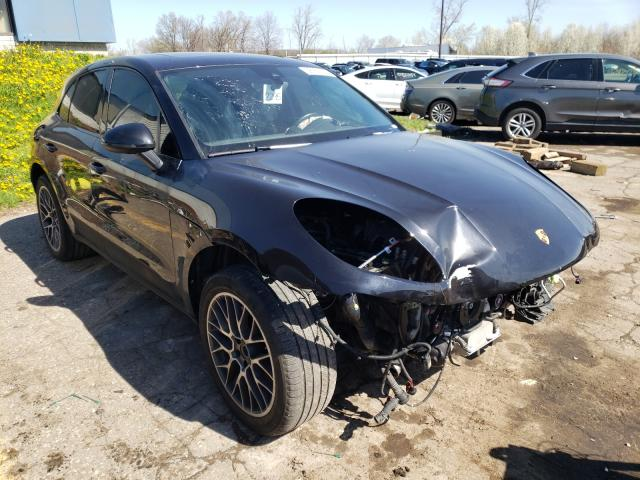 Salvage cars for sale from Copart Woodhaven, MI: 2017 Porsche Macan S