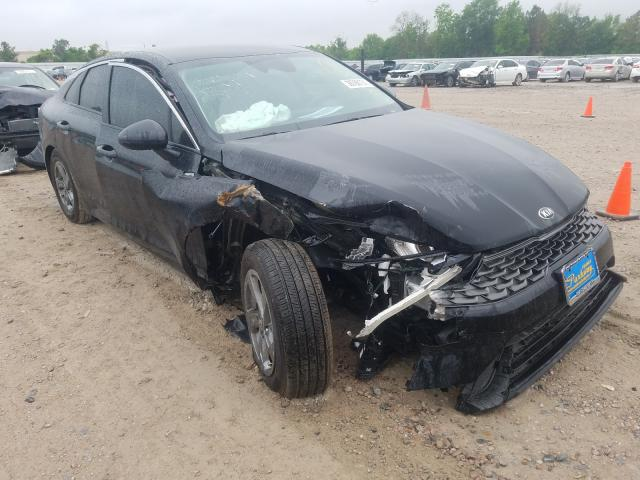 Salvage cars for sale from Copart Houston, TX: 2021 KIA K5 LXS