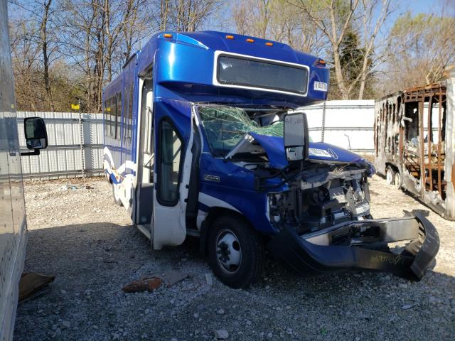 Salvage cars for sale from Copart Des Moines, IA: 2019 Ford Econoline