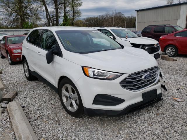 Salvage cars for sale from Copart Rogersville, MO: 2020 Ford Edge SE