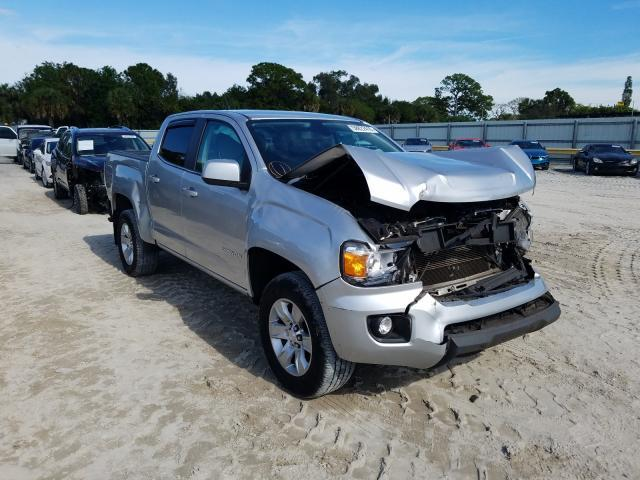 Salvage cars for sale from Copart Fort Pierce, FL: 2015 GMC Canyon SLE